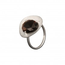 Rhodonite Plectrum Ring