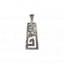 Quirky - Sterling Silver Pendant