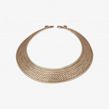 Choker- Hasli Sterling Silver Choker Necklace