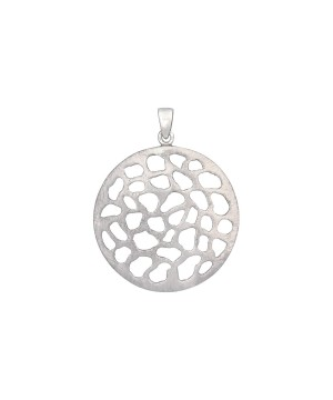 Moon Crater - Sterling Silver Pendant