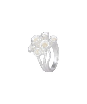 Bubbly - Sterling Silver Ring