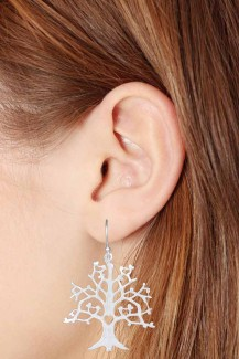 Tree Of Life - Sterling Silver Earring